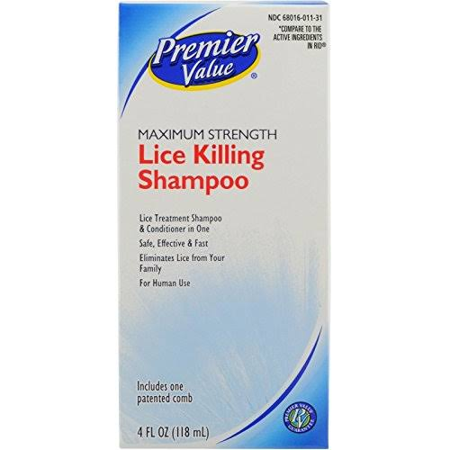 Premier Value Lice Killing Shampoo - 4oz