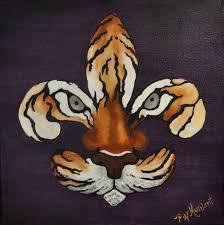 Trinity Pumpkin Patch Baton Rouge by Fleur De Lis Paintings Louisiana Artists Fleur De Tigre By
