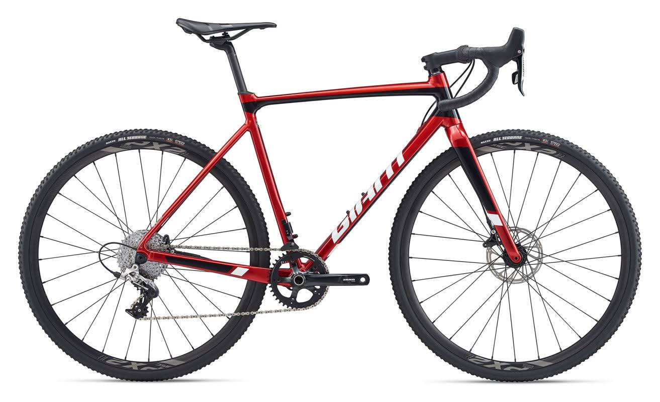Giant TCX SLR 1 2020 Cyclocross Bike Metallic Red