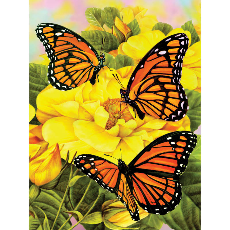 "Royal and Langnickel Majestic Butterfly Paint By Number Kit - Small, 8 3/4"" x 11 3/8"""
