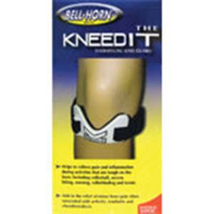 Bell-Horn The Kneedit Knee Guard - White, Black