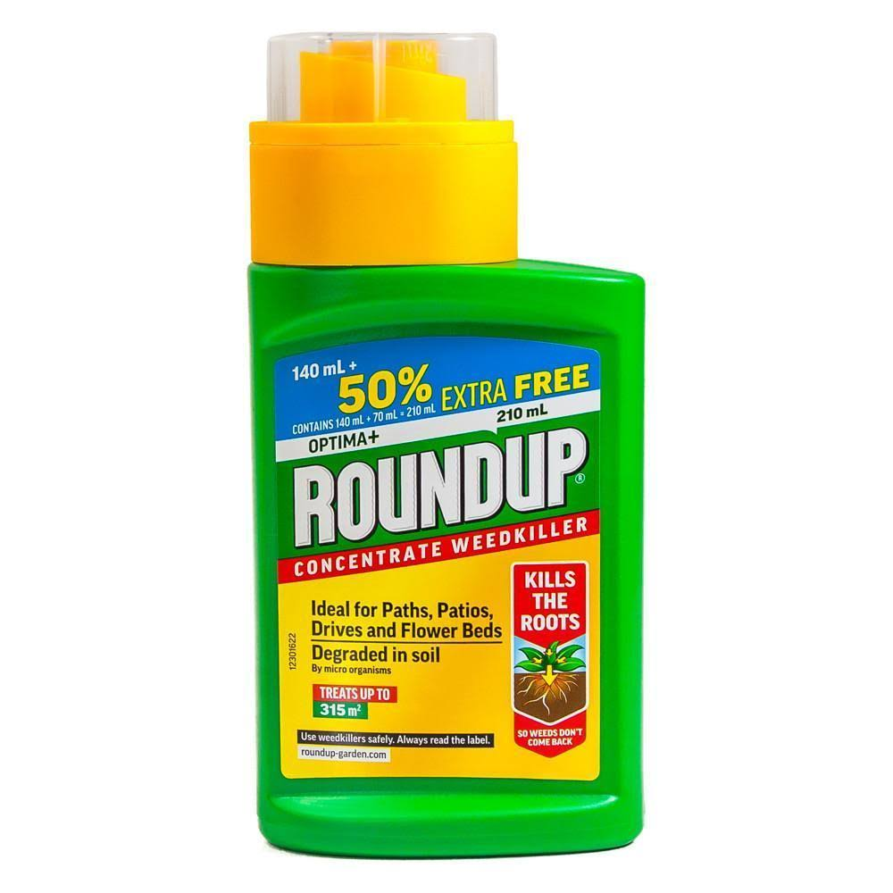 Roundup Optima+ Weedkiller Concentrate 140ml