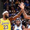 LeBron James y Anthony Davis lucen en debut de pretemporada de ...