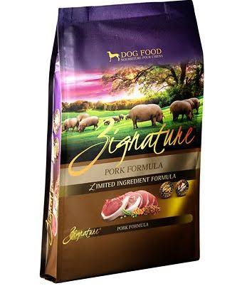 Zignature Dog Food - Pork Formula
