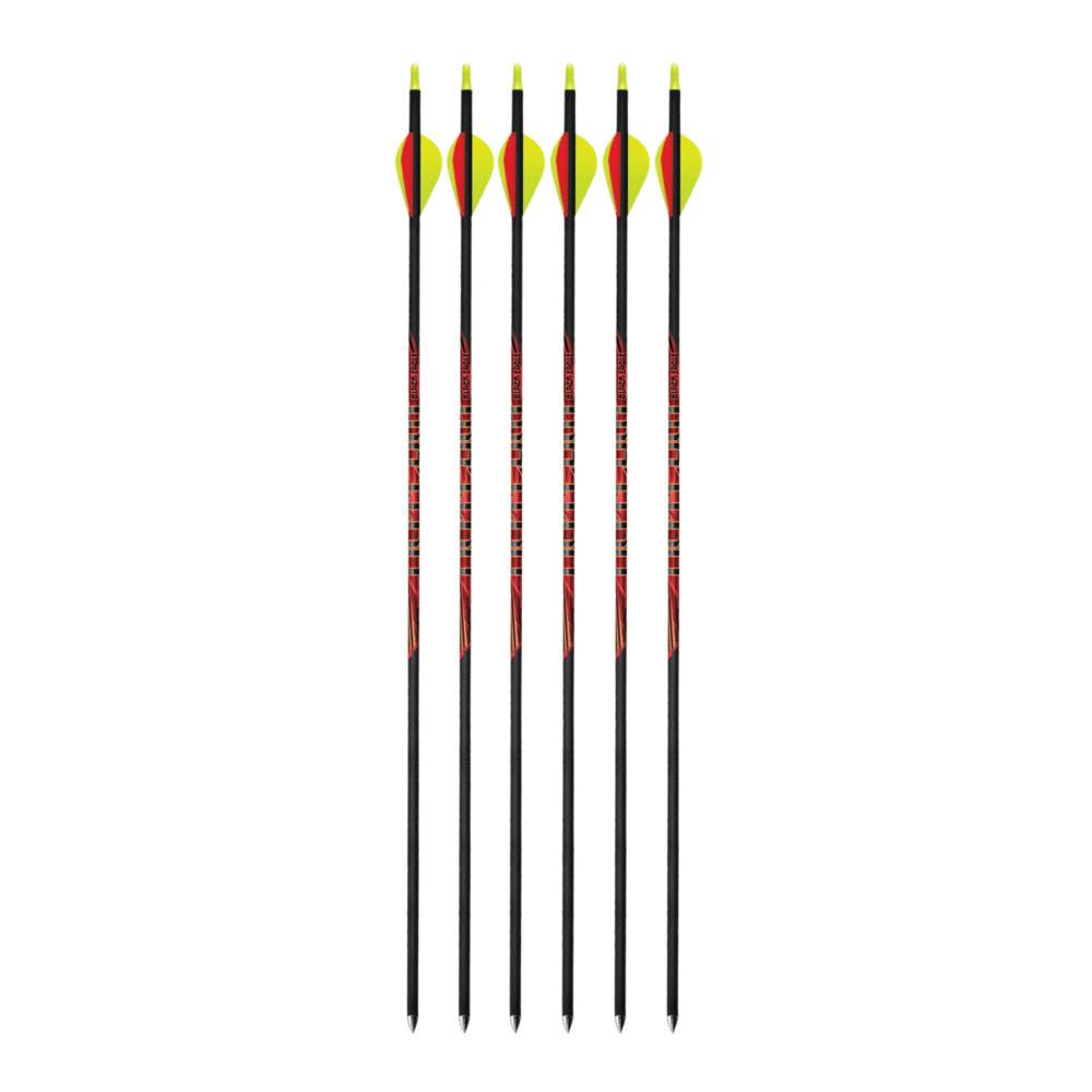 Black Eagle Outlaw 500 Spine Fletched Arrows (.005 , 6-Pack)