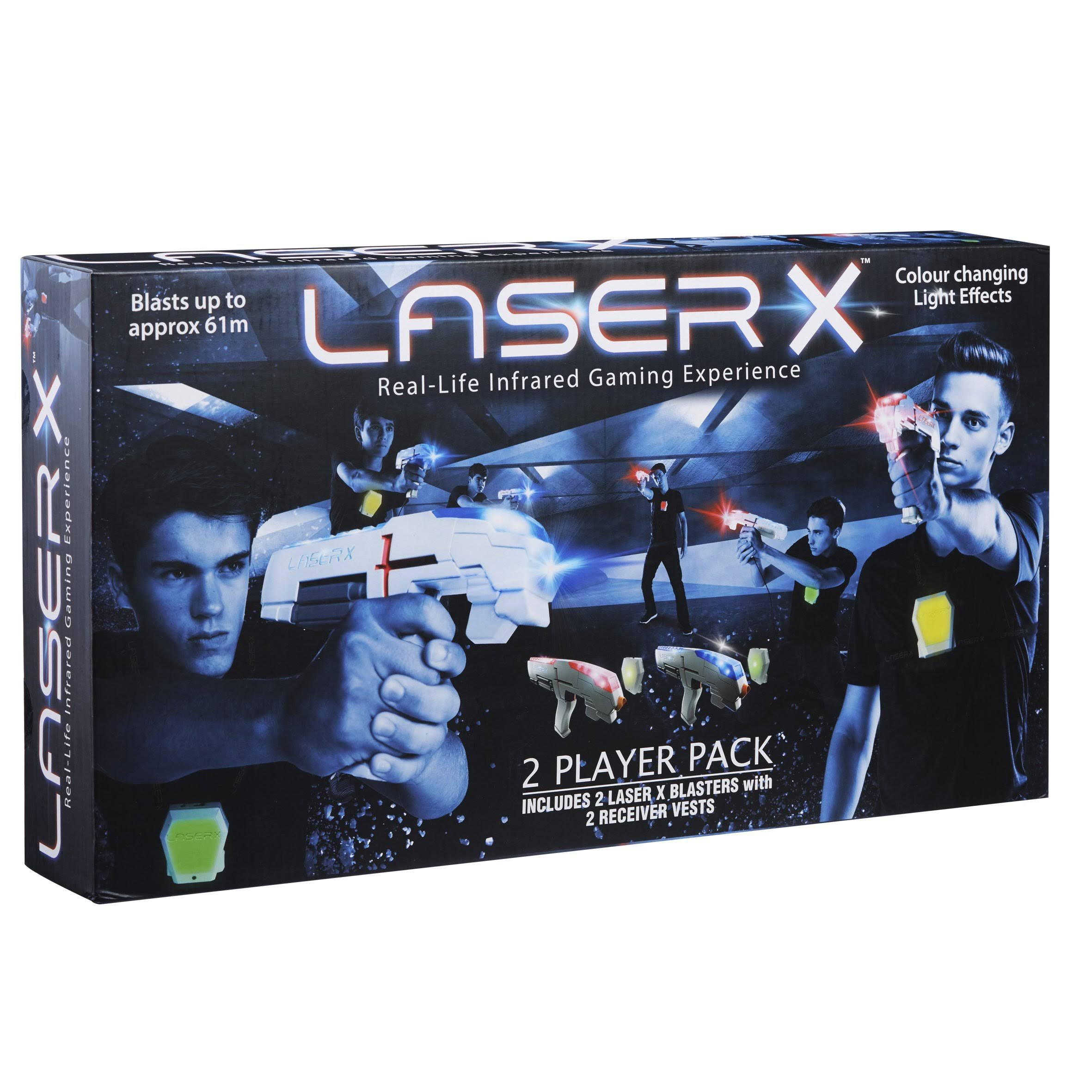 Laser X Real Life Gaming Tag Experience - Two Player, 2 Guns Set