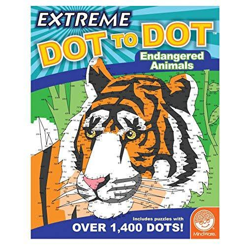 MindWare Extreme Dot to Dot (Endangered Animals)