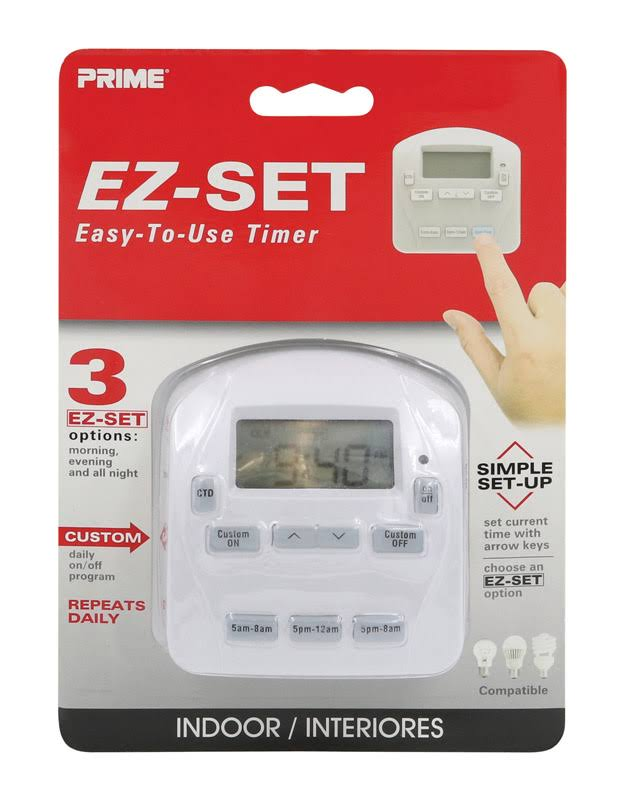 Prime Timer, E-Z Set, Indoor