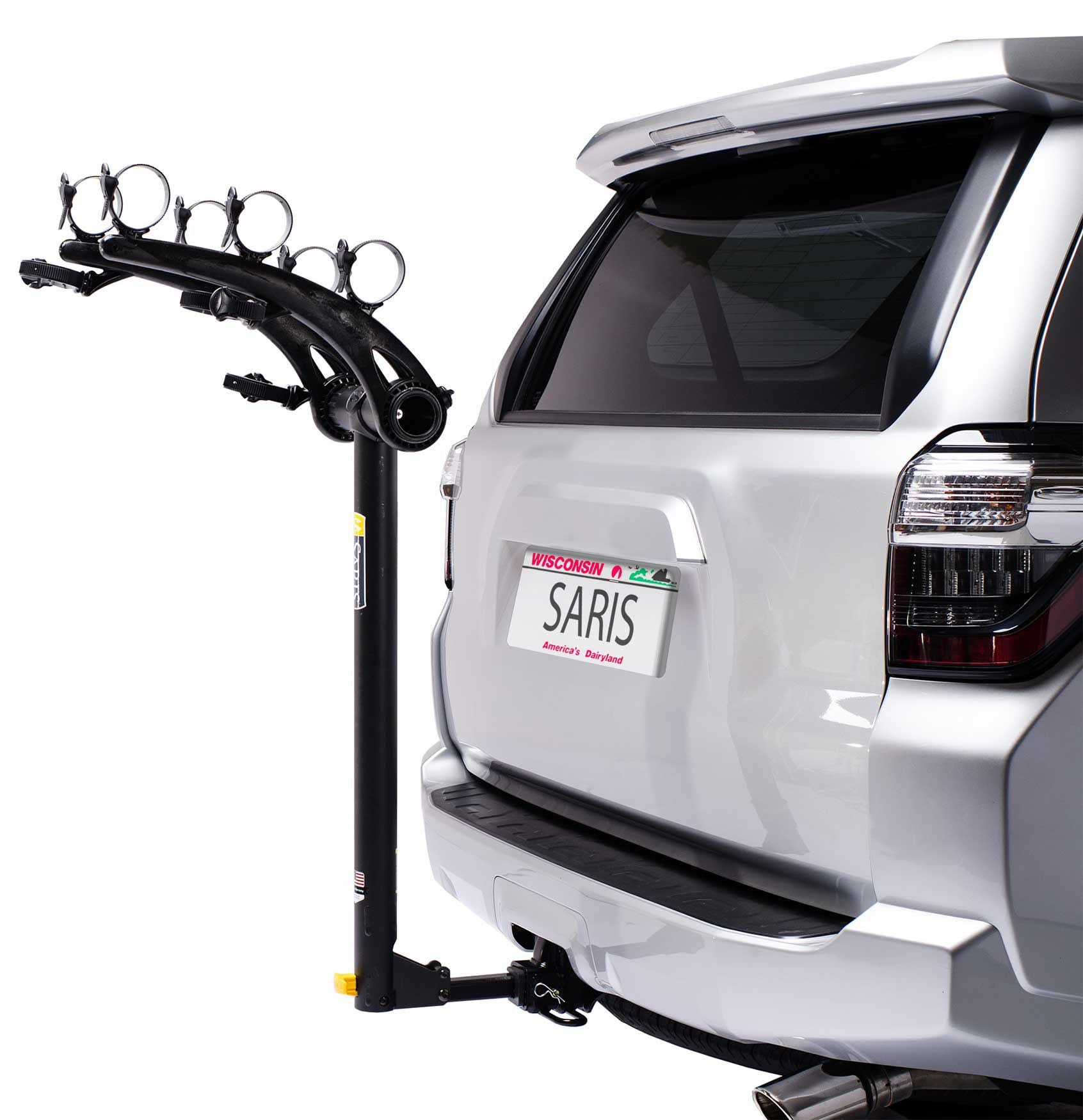 Saris Bones Hitch Mounted Bike Rack - Universal, 3 Bikes