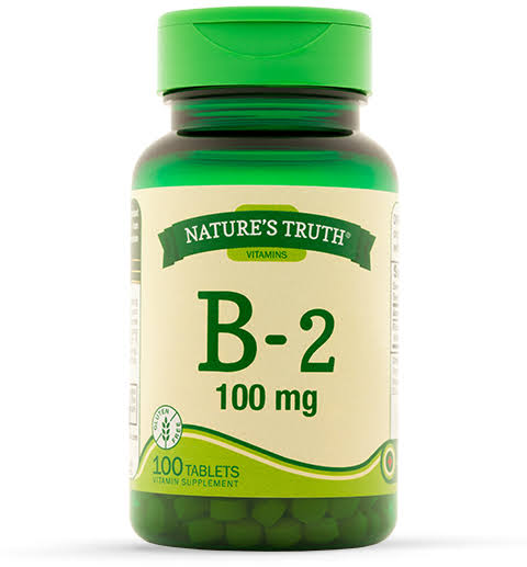 Nature's Truth Vitamin B-2 Dietary Supplement - 100mg, 100 Tablets