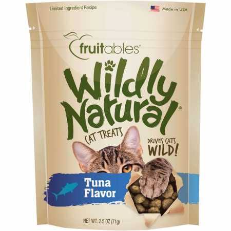 Fruitables Wildly Natural Cat Treats Tuna - 2.5 oz.