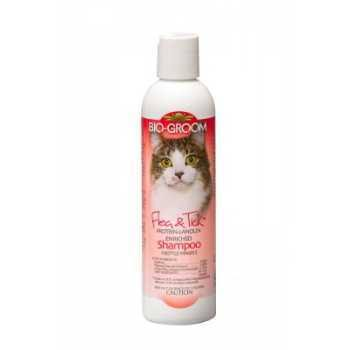 Bio Groom Flea and Tick Cat Shampoo - 8oz
