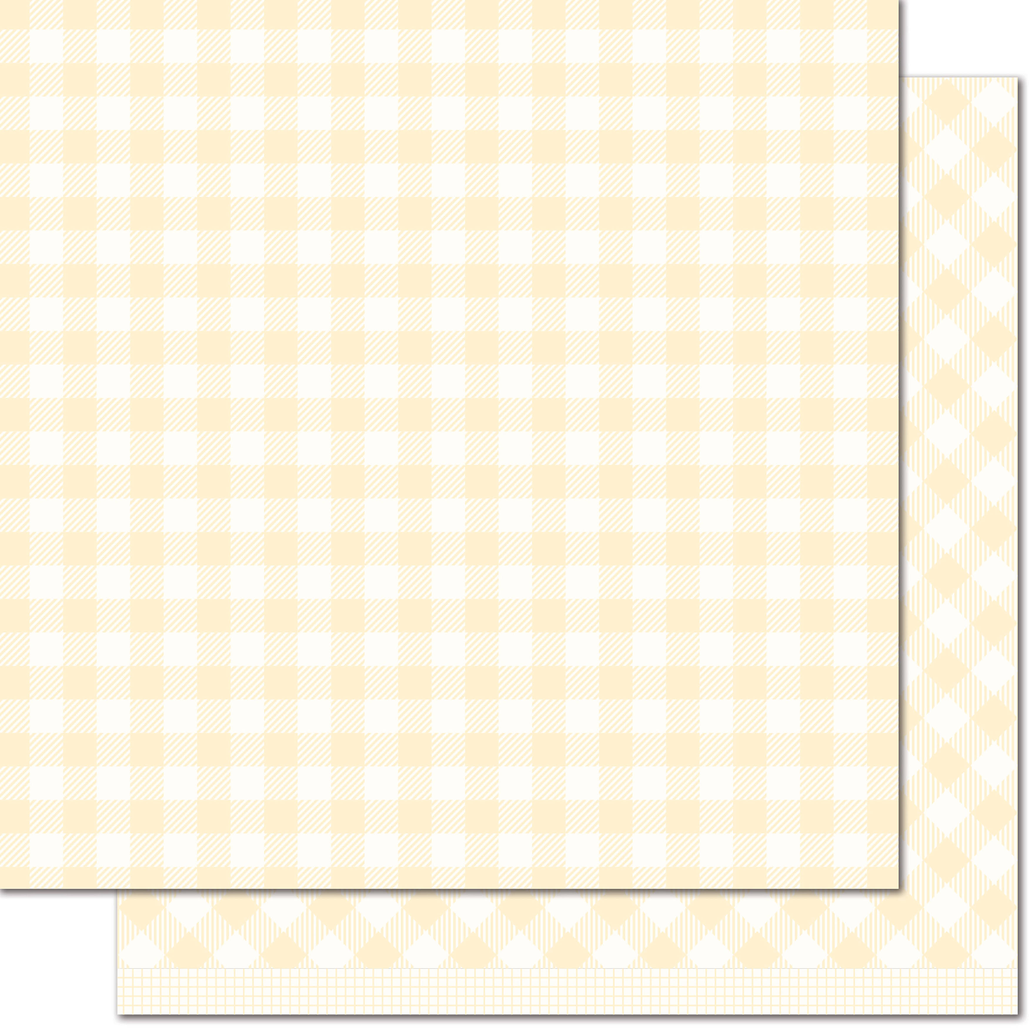 Lawn Fawn Gotta Have Gingham Daisy Paper