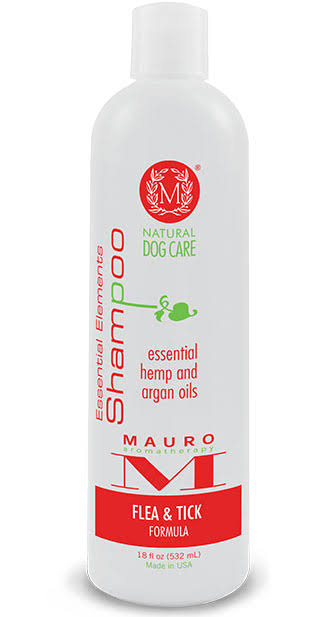Mauro Essential Elements Shampoo: Flea and Tick Formula - 18oz.