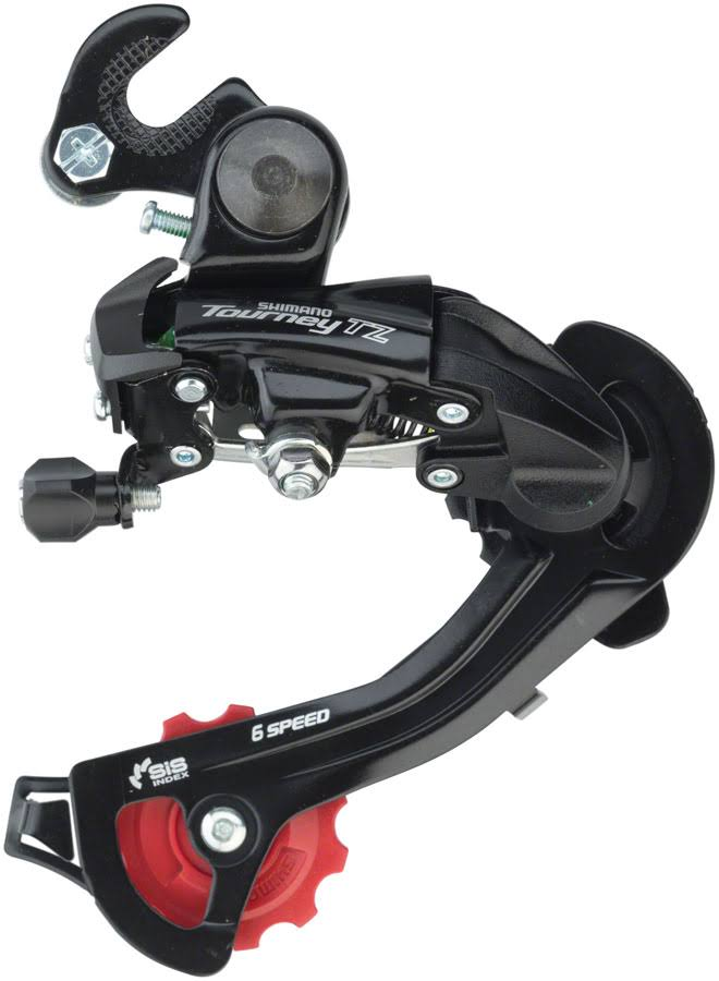 Shimano Tourney RD-TZ500 Rear Derailleur - 67 Speed Long Cage Black