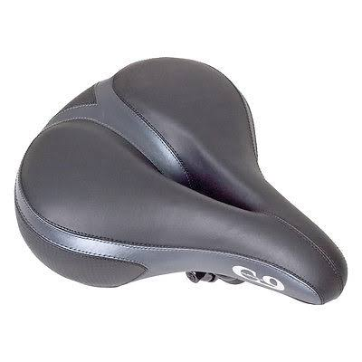 Sunlite Cloud-9 Bicycle Suspension Comfort Saddle - Black