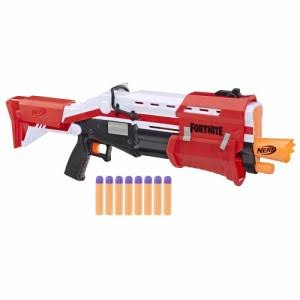 Nerf Fortnite TS Nerf Mega Pump Action Dart Blaster - with 8 Nerf Mega Darts