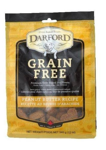 Darford Dog Treats - Peanut Butter, 340g