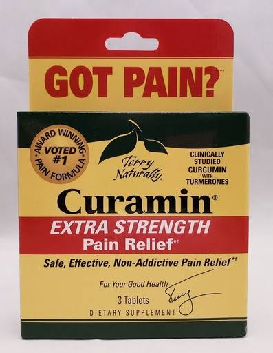 EuroPharma (Terry Naturally) Curamin Extra Strength - 3 Tablet
