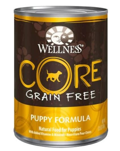 Wellness Core Natural Wet Canned Grain Free Puppy Dog Food - 12.5oz