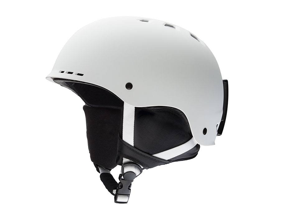 Smith Optics Unisex Adult Holt Snow Sports Helmet - Matte White, Medium