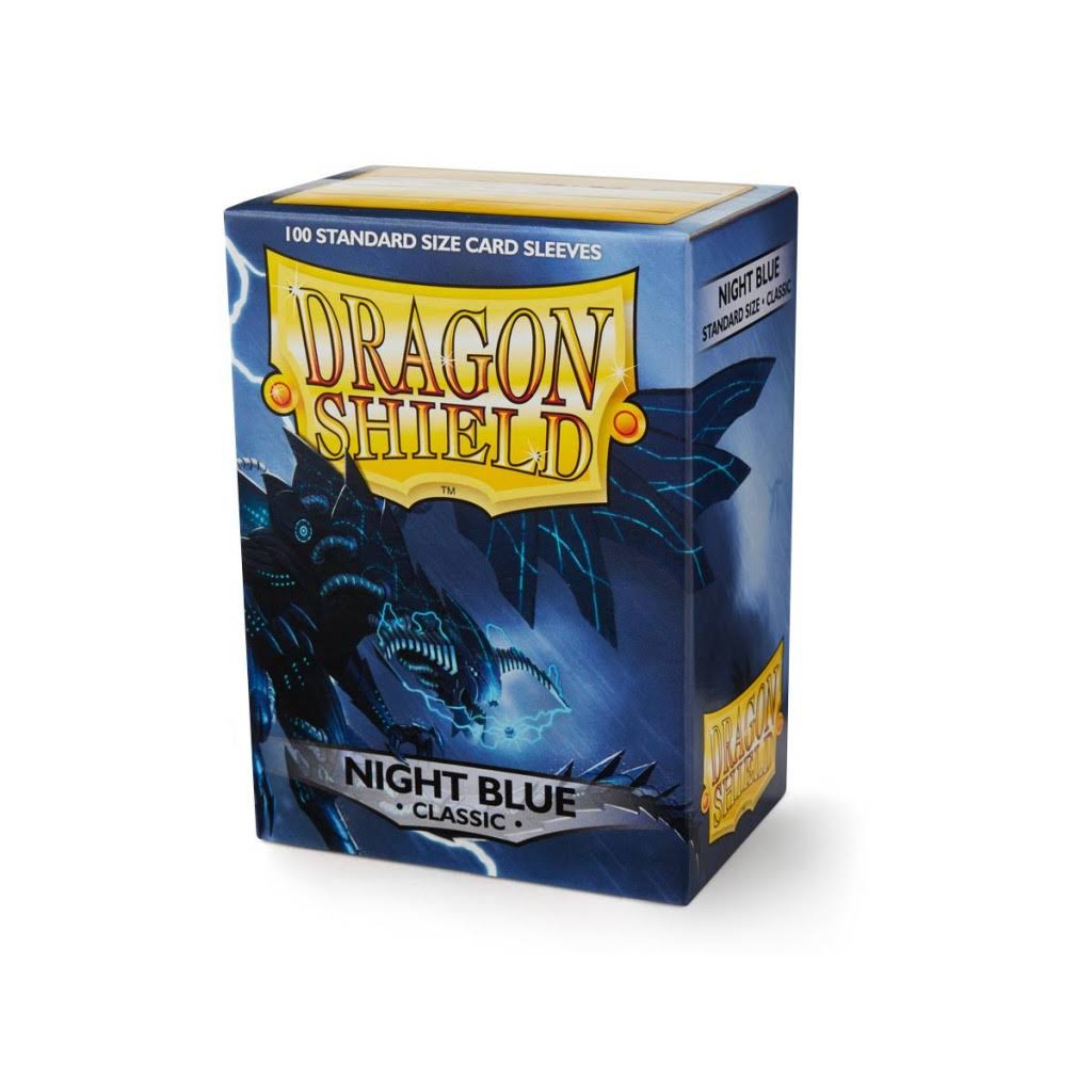 Dragon Shield Classic Night Blue Sleves - 100ct