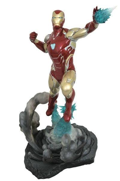 Diamond Select Toys Marvel Gallery: Avengers Endgame Action Figure - Iron Man, 23cm