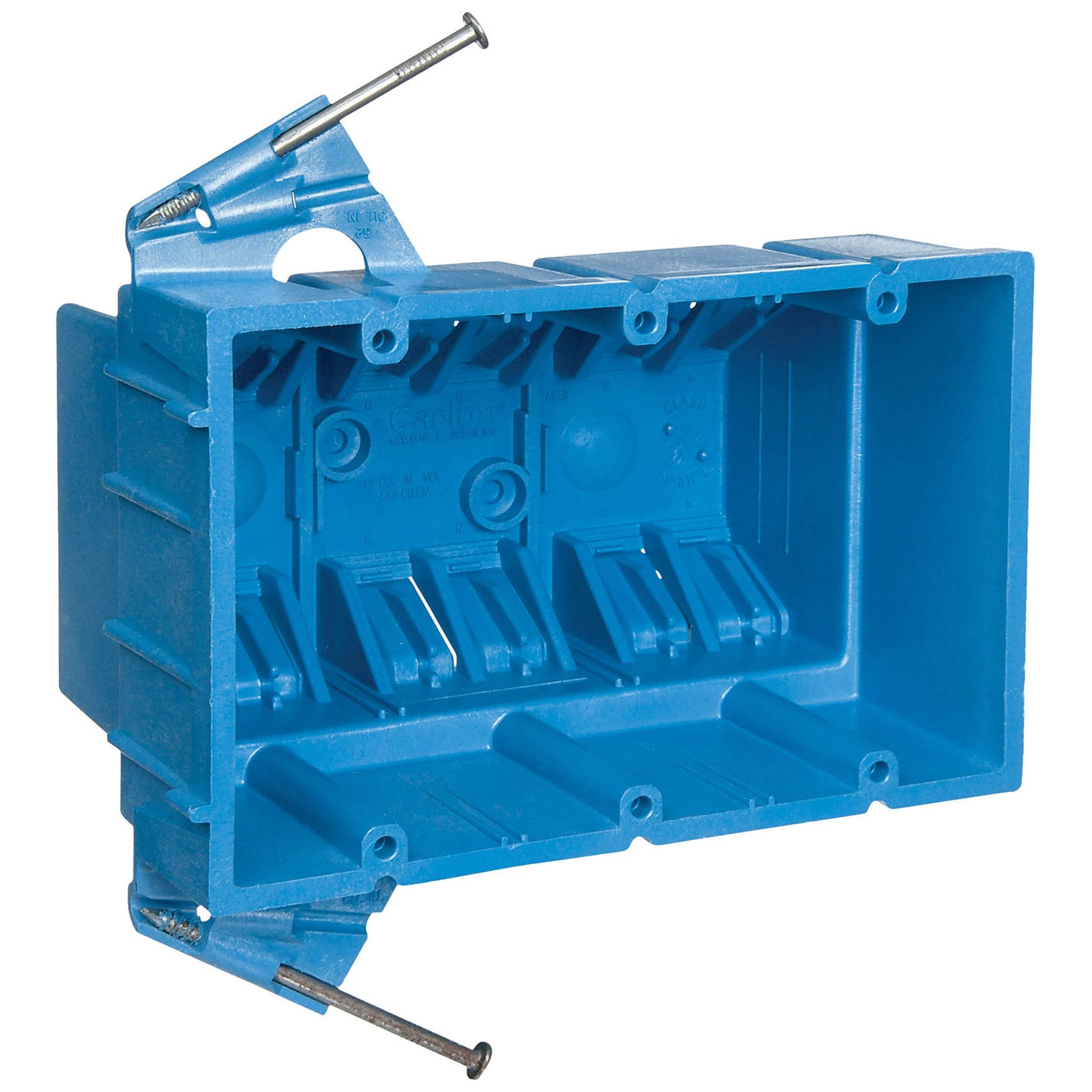 Thomas & Betts 3-Gang Electrical Hard Shell Box - 53 cu. in
