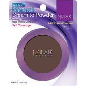 Nicka K New York Mineral Cream to Powder 0.21oz (MP207-Brown)