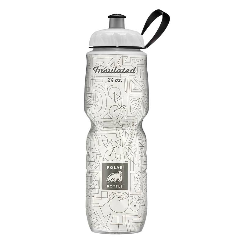 Polar Bottle Insulated Bike Lines Water Bottles - 24oz