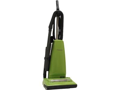 Panasonic Upright Vacuum Cleaner - Green, 14lb