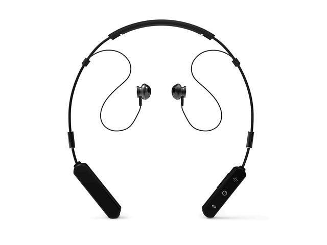 Reiko Neck Band Sport Bluetooth Earphones - Black