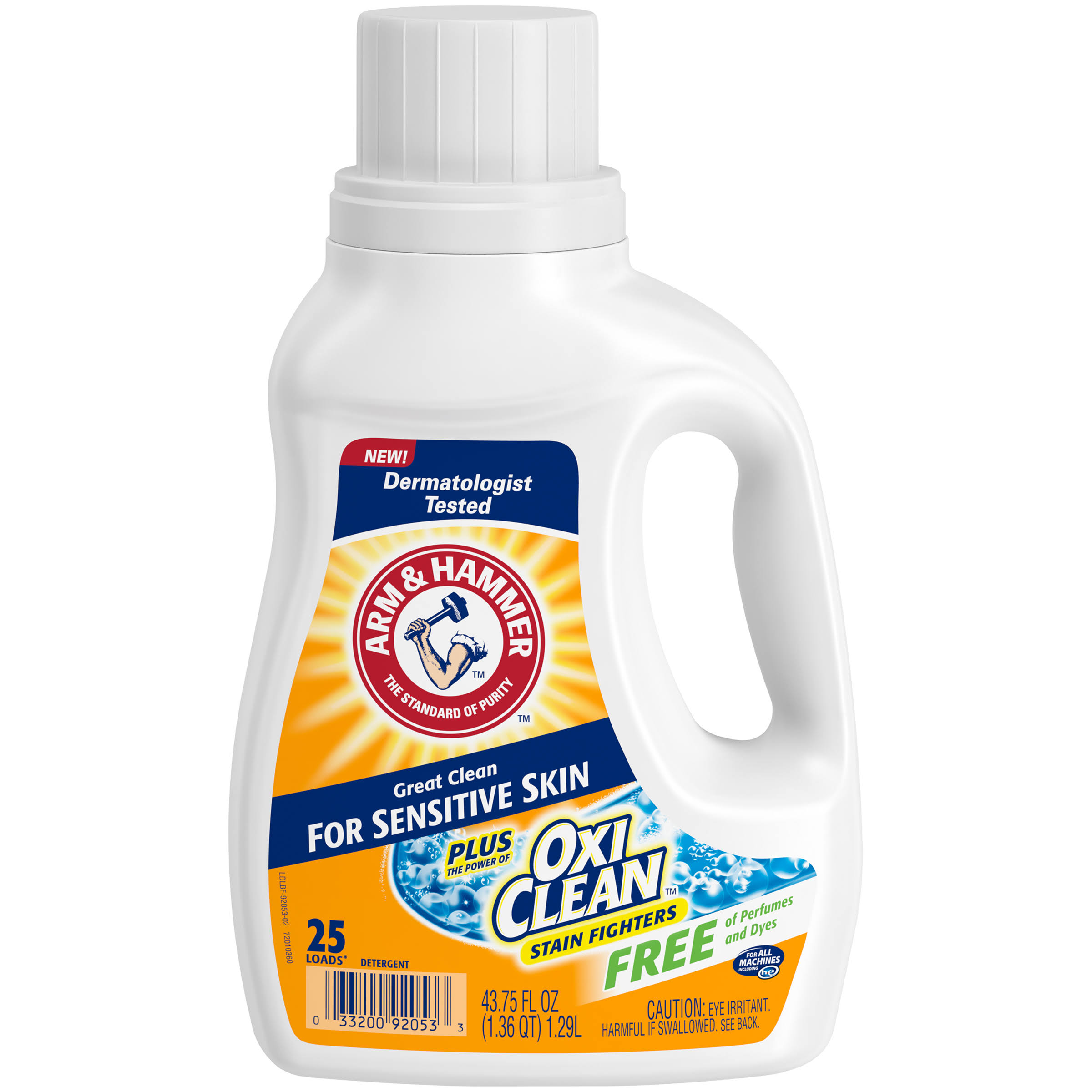Arm & Hammer OxiClean Sensitive Skin Laundry Detergent