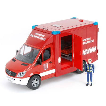 Bruder 02539 MB Sprinter Paramedic with Driver