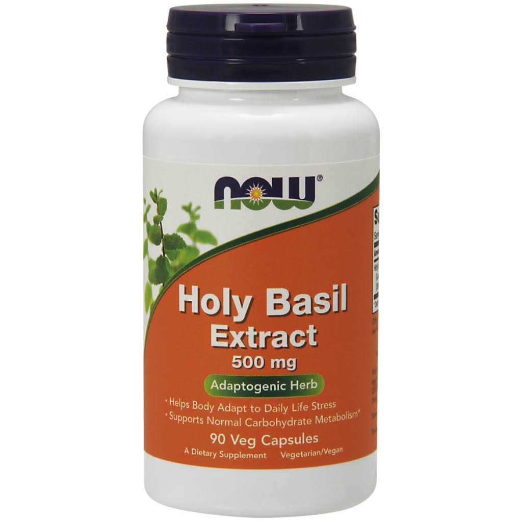 Now Foods Holy Basil Extract - 500mg, 90 Vcaps