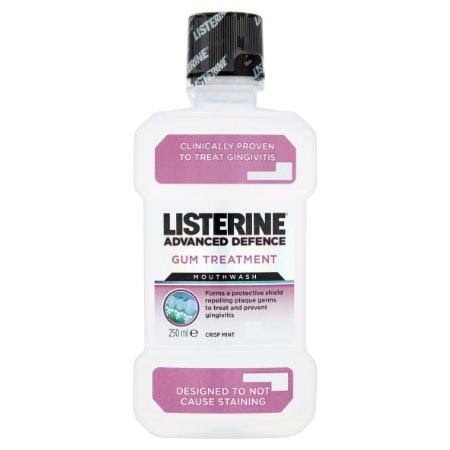 Listerine Advanced Defence Gum Treatment Mouthwash 250ml