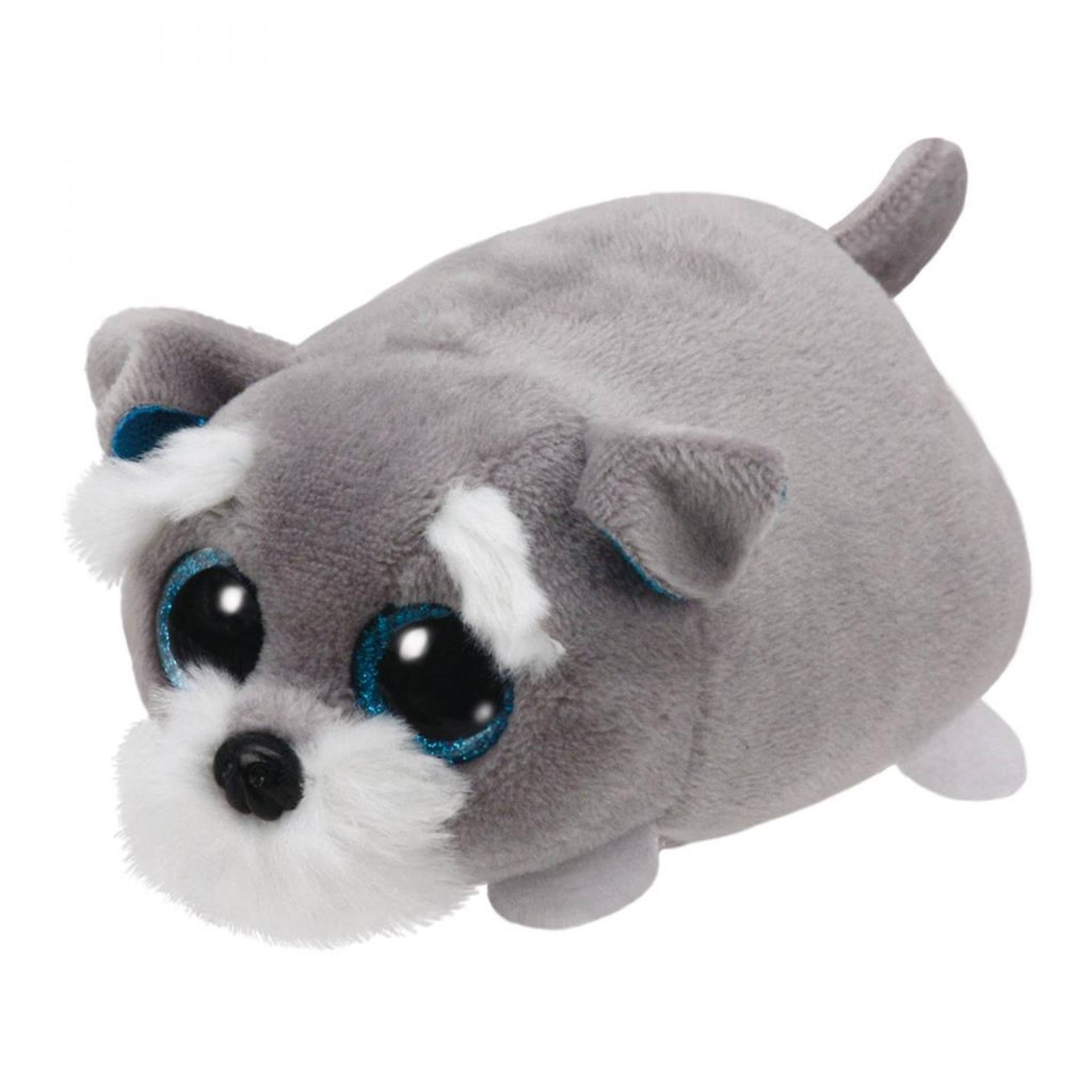TY Teeny Tys Plush - Jack the Grey Dog
