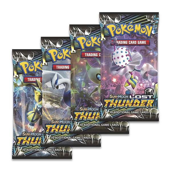 Sun & Moon 8: Lost Thunder Booster Box