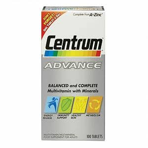Centrum Advance Multivitamin - 60 Tablets