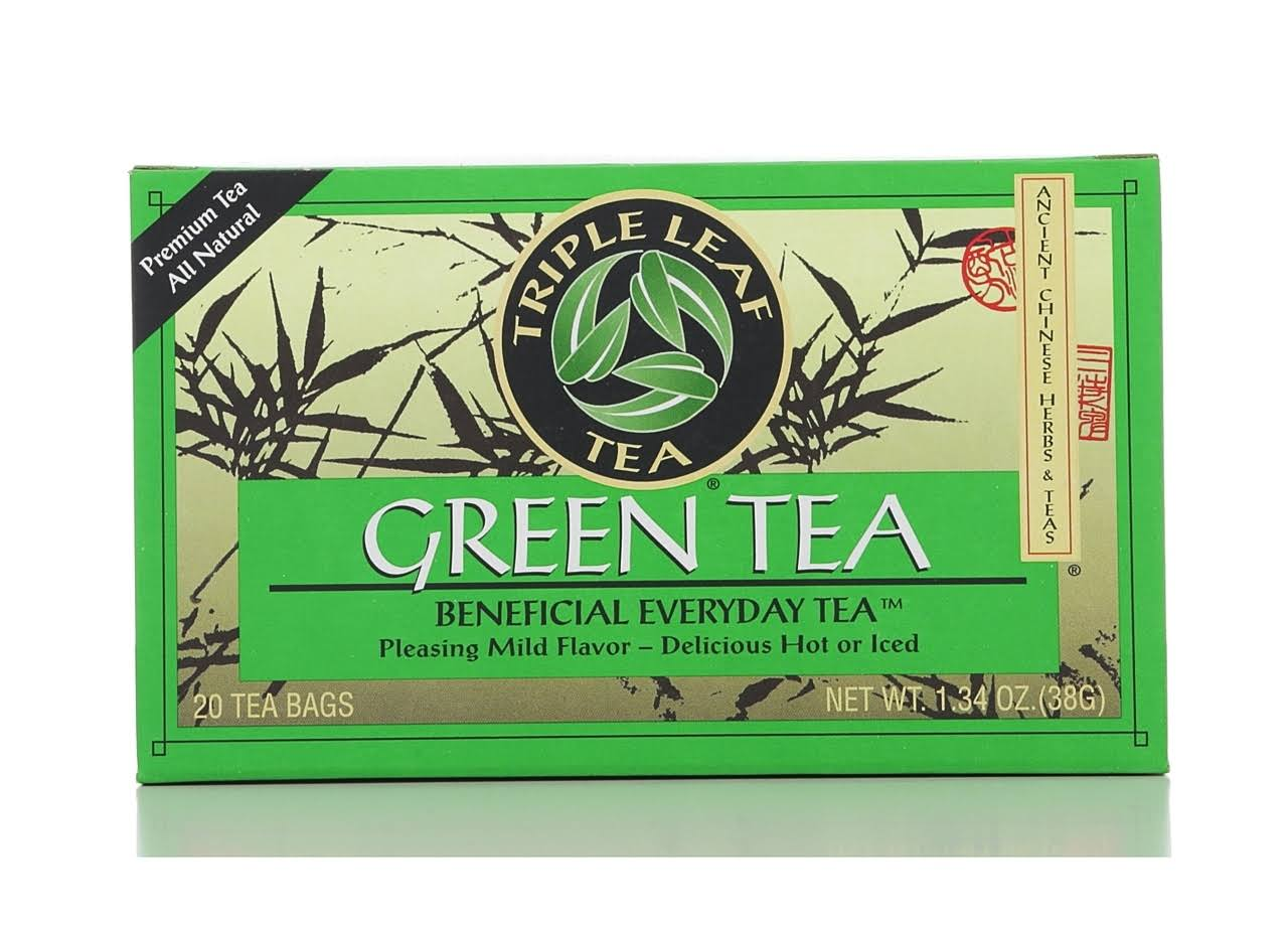 Triple Leaf Tea Green Tea - 20 Tea Bags