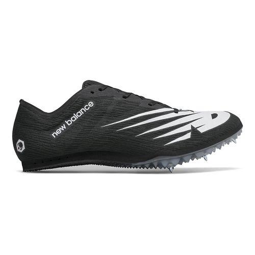 New Balance MD500v7 Track Spike - Black with White, 4