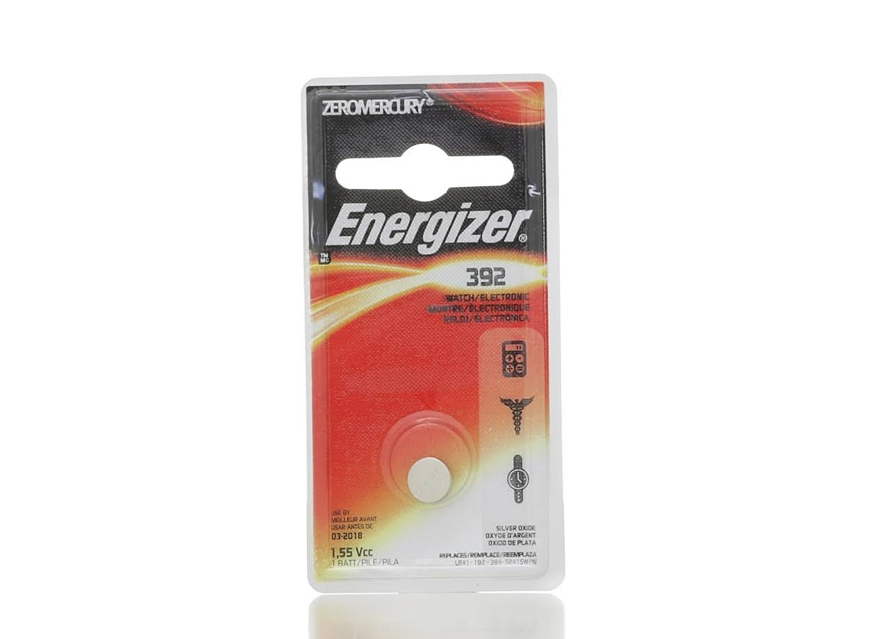 Energizer 392 Watch Electronic Battery