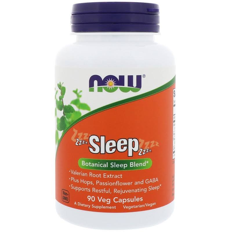 Now Foods Sleep Supplement - 90 Veg Capsules