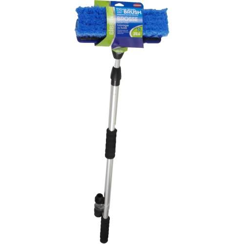 Carrand Flow-Thru Wash Brush with Extendable Handle - 68""