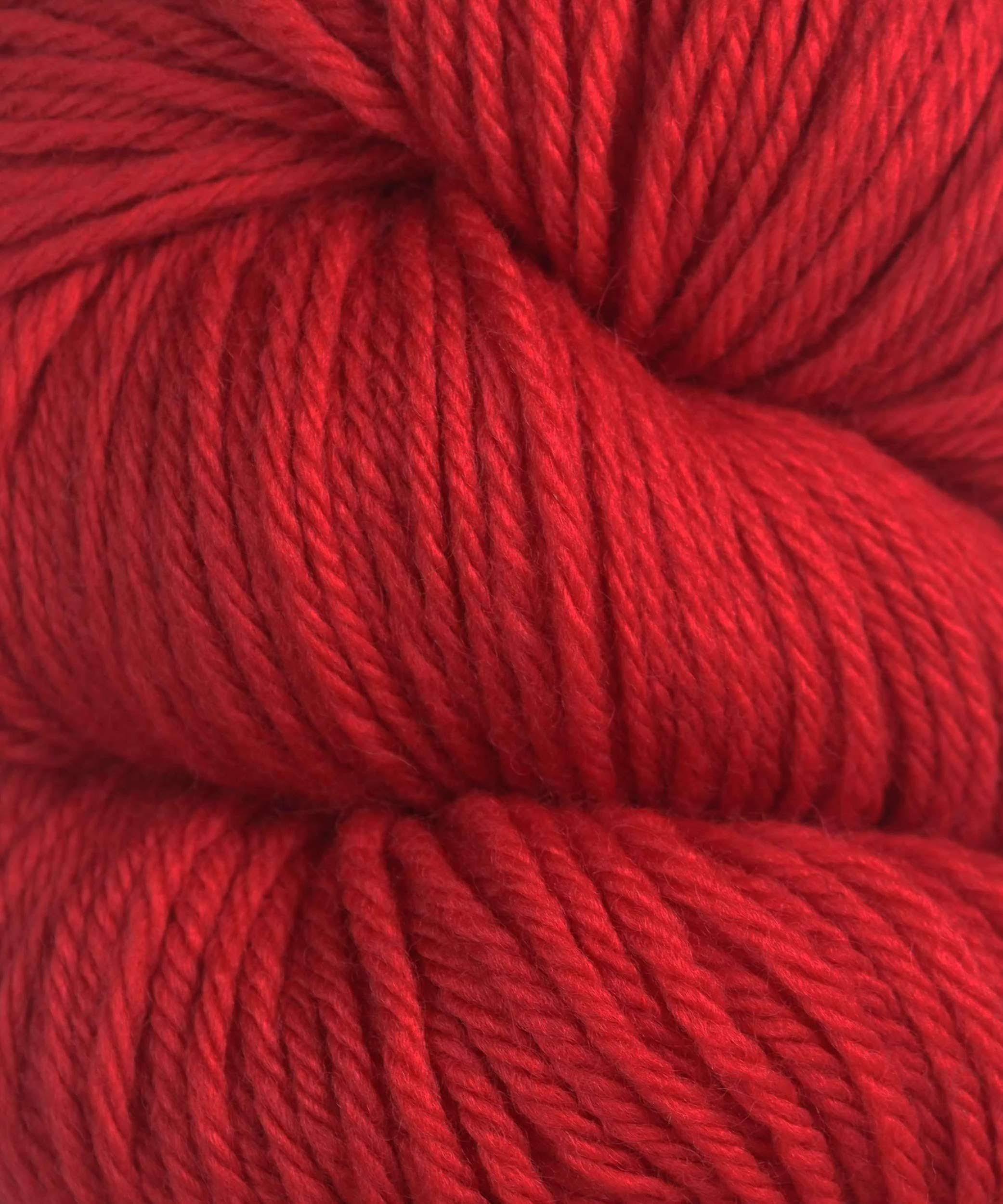 Cascade 220 Yarn - 8895 Christmas Red