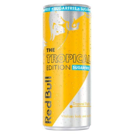Red Bull Tropical Edition Sugarfree Energy Drink - 250ml
