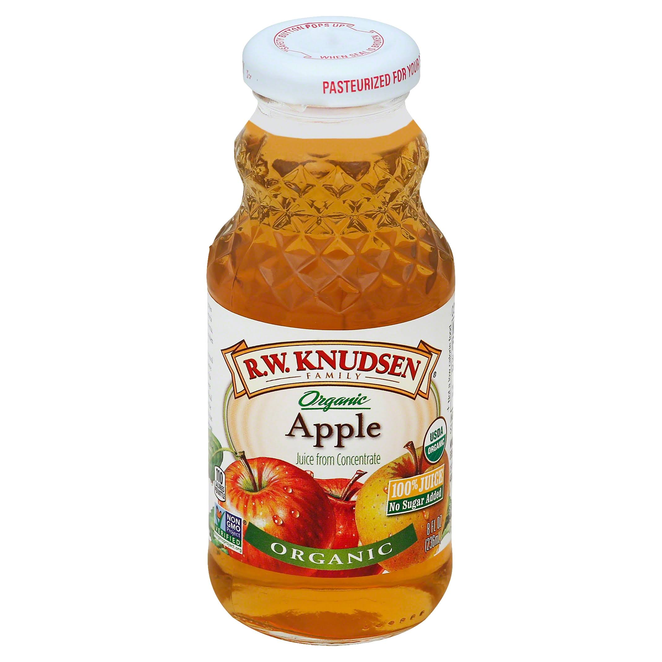 Knudsen Organic Apple Juice - 8 Oz
