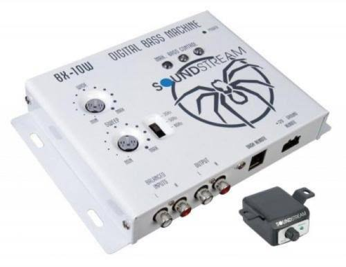 Soundstream BX-10W Digital Bass Reconstruction Processor with Remote - White