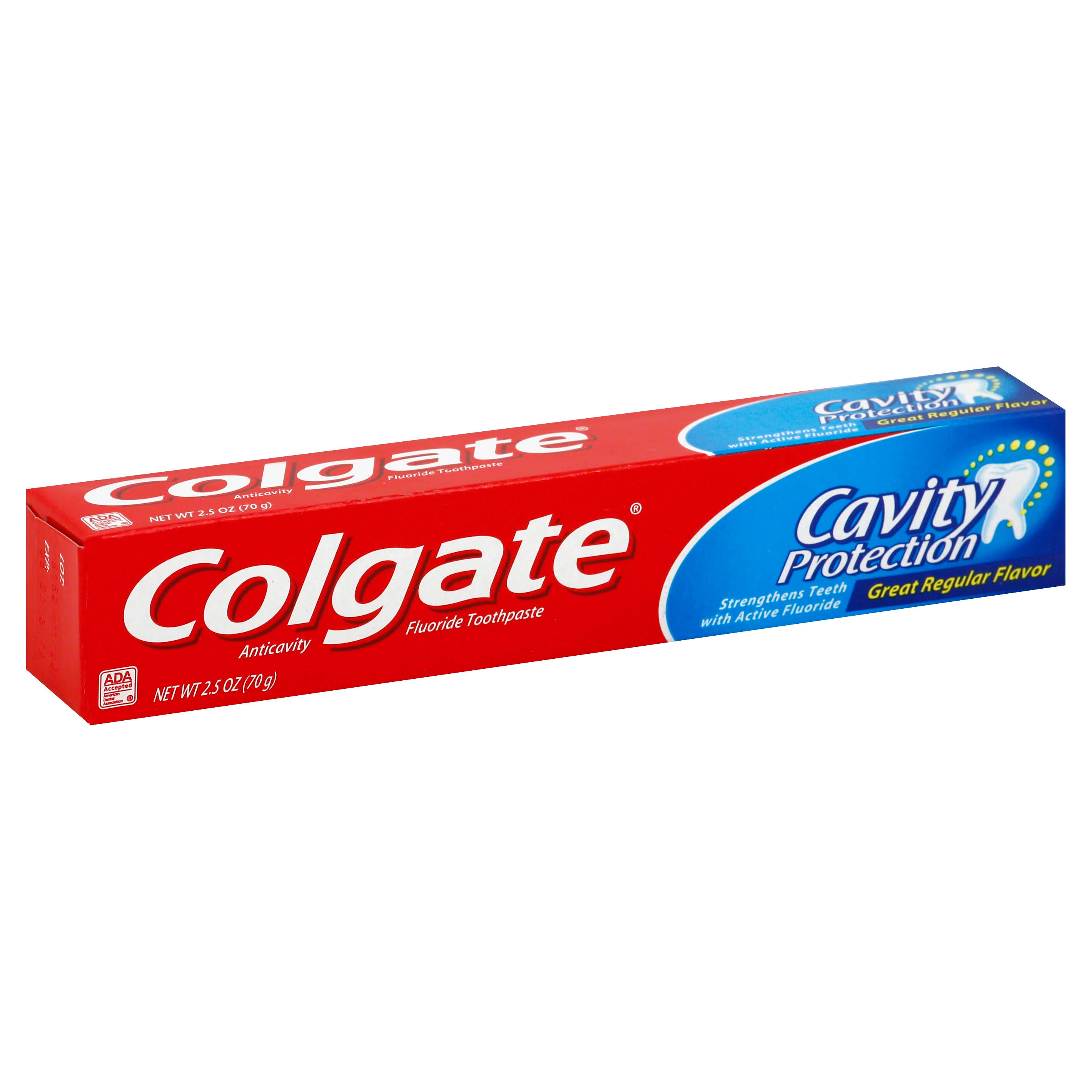 Colgate Cavity Protection Toothpaste - Regular Flavor, 2.5oz