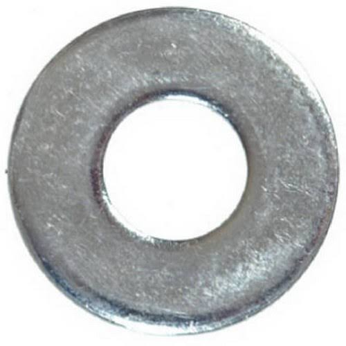 The Hillman Group Flat Zinc Washers - 3/16""